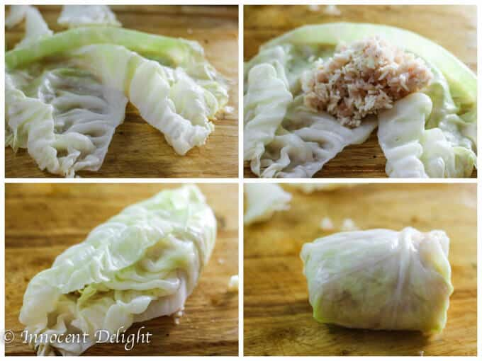 Skinny Stuffed Cabbage Rolls