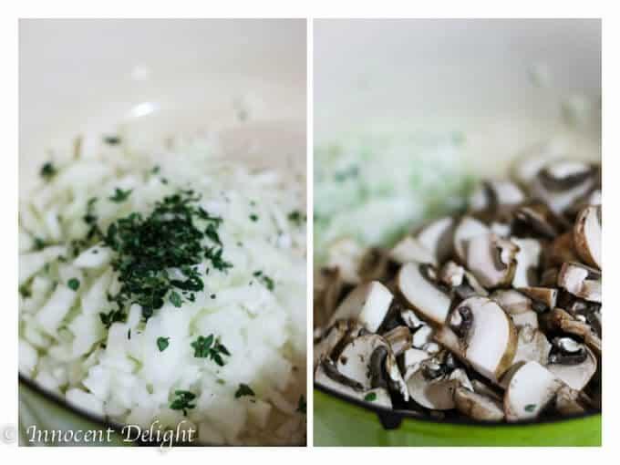 Truffled Butternut Squash and Mushroom Soup