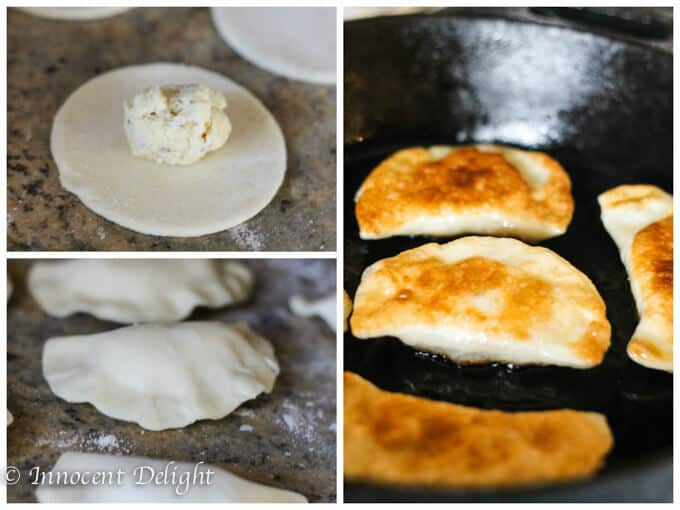 Authentic Polish pierogi with potatoes and cheese - traditional Polish dish at its best. Try this recipe and never buy pierogi again . They are amazing - innocentdelight.com