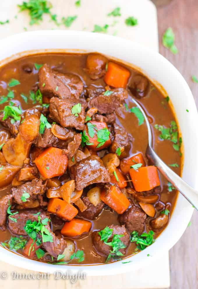 Moroccan Spiced Beef Stew | Innocent Delight