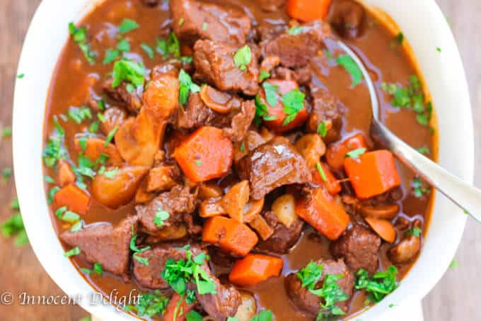 Moroccan Spiced Beef Stew
