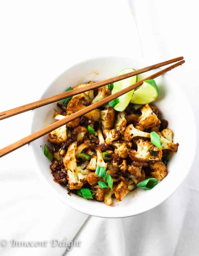 Spicy Siracha Cauliflower