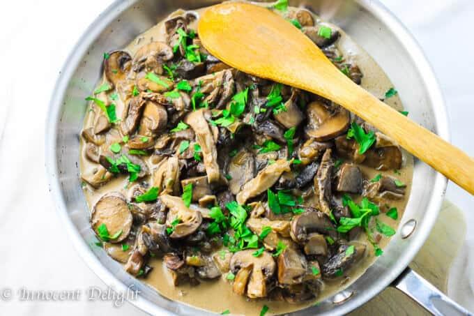 Creamy Wilde Mushroom Sauce