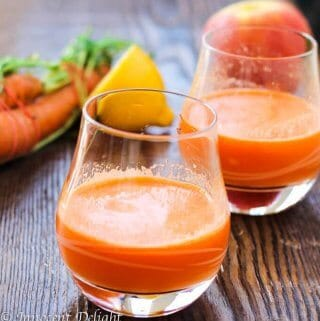 Carrots Apple Juice