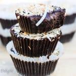 3 ingredients chocolate coconut fudge
