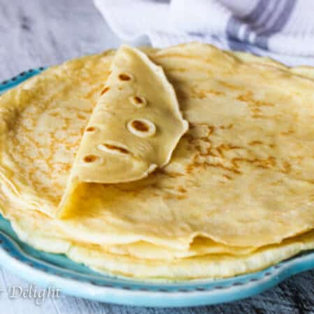 Perfect French Crepes