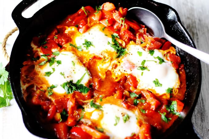 Shakshuka - Classic Mediterranean Breakfast