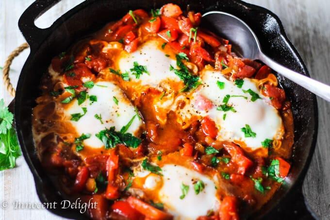 Shakshouka - Classic Mediterranean Breakfast