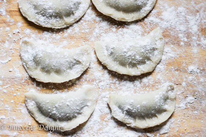 Sauerkraut and Mushrooms Pierogi from Scratch