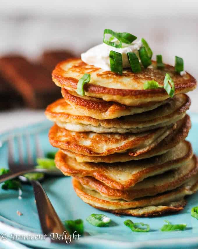 Super Easy European Style Potato Pancakes