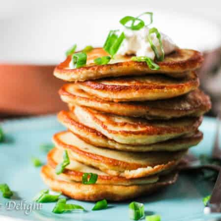 Super Easy European Style Potato Pancakes