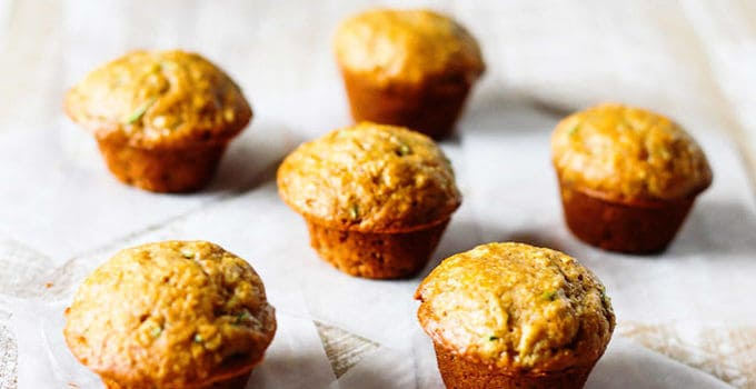 Healthy Mini Zucchini Muffins