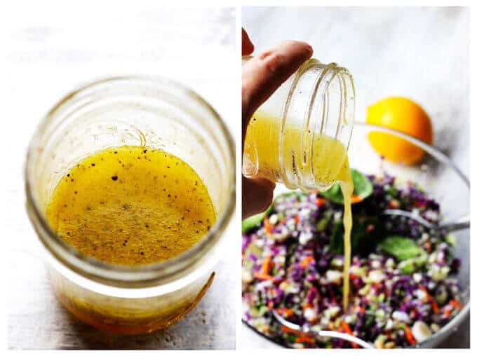 Perfect Detox Salad with Meyer Lemon Dressing