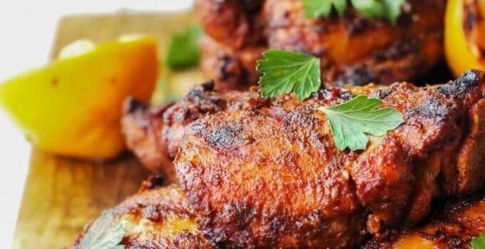 Grilled Chicken Shawarma – flavorful Middle Eastern dish
