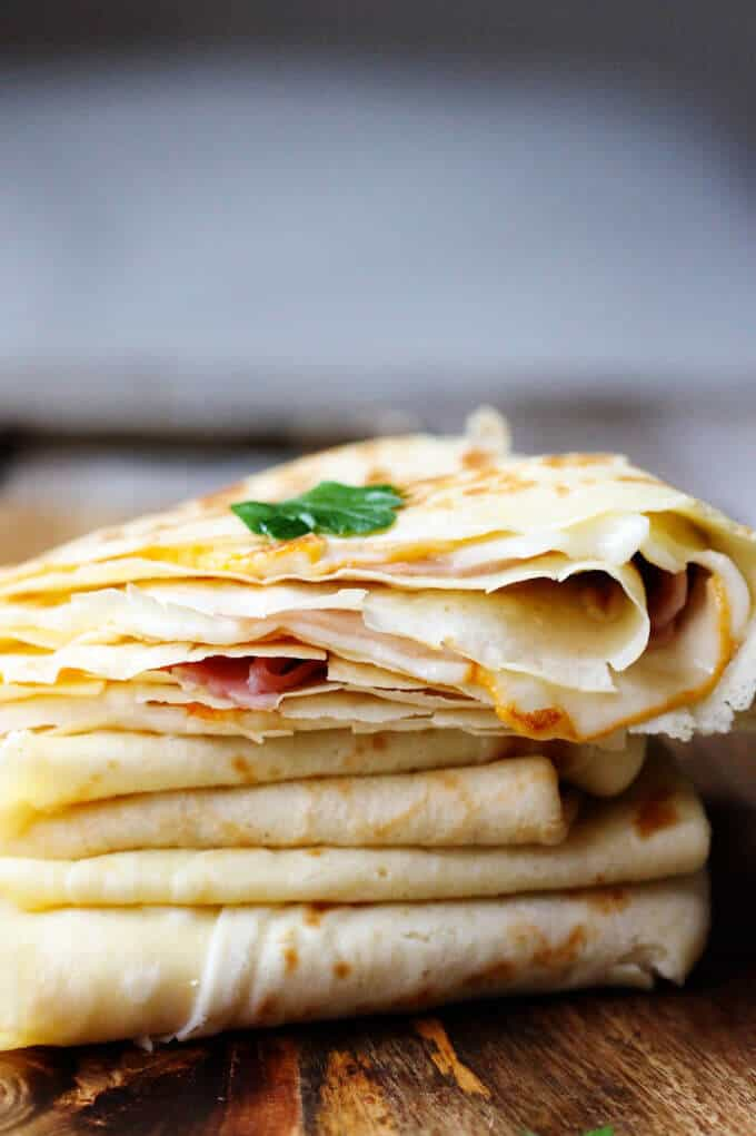 Crepes Recipe Easy Savory
