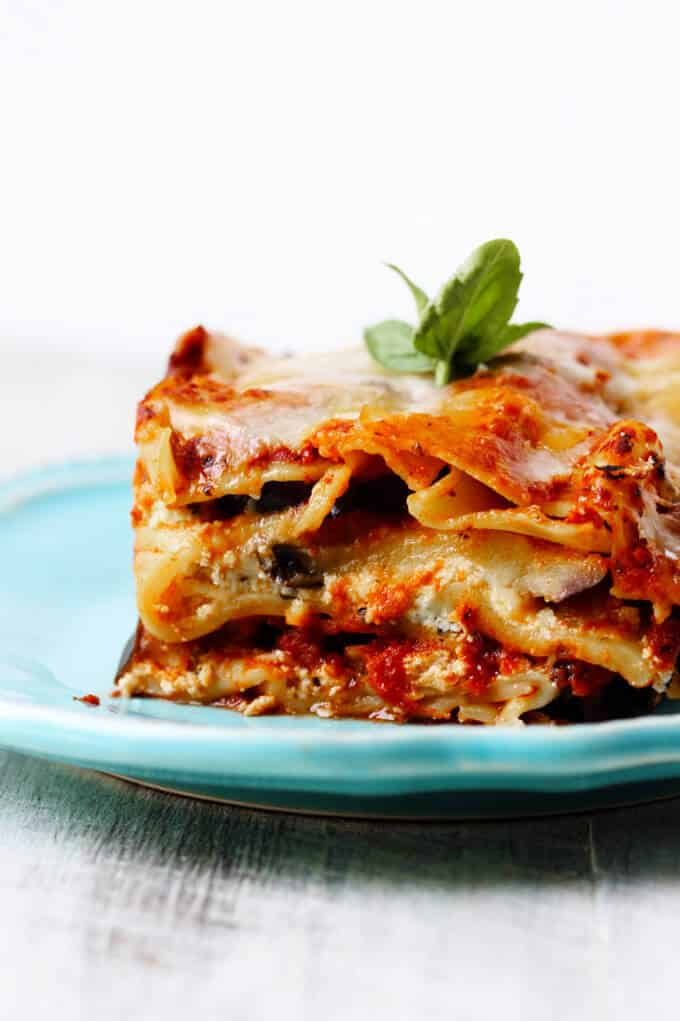 Slow Cooker Eggplant Lasagna is a perfect meal that incorporates seasonal ingredients (like ripe eggplant and fresh basil), requires minimal preparation, and is prepared entirely in a slow cooker.