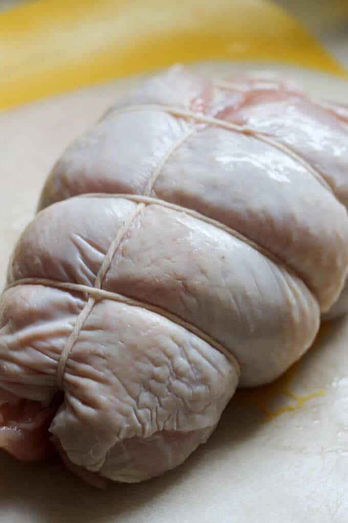 Fall Harvest Roasted Turkey Breast is a perfect recipe for Thanksgiving if you don't want to cook the whole bird.