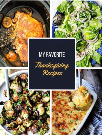 Favorite Thanksgiving Recipes Compilation