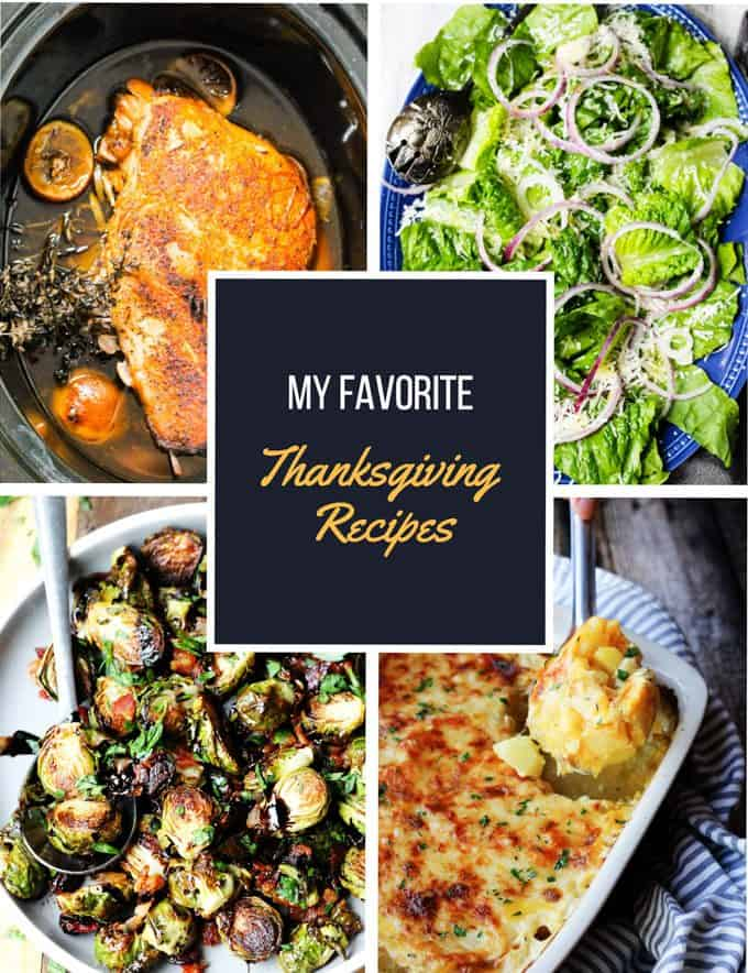 Favorite Thanksgiving Recipes Compilation