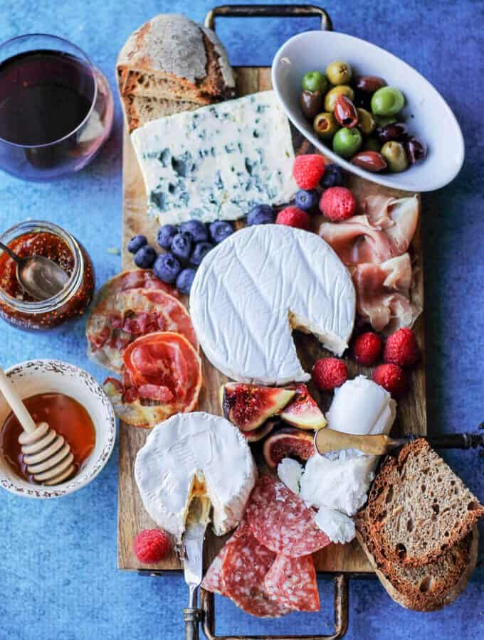 Perfect French Cheese Board + Wine Pairing