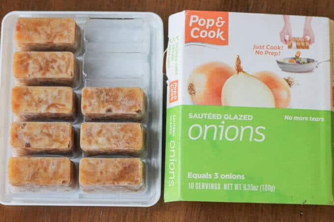 Frozen Onion packet