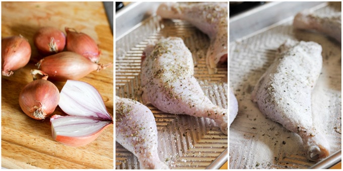 Step by step process of making Chicken Provencal