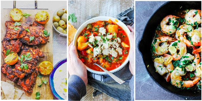 3 best Mediterranean dinner recipes