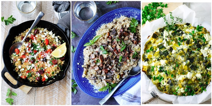 3 of best Mediterranean side dishes