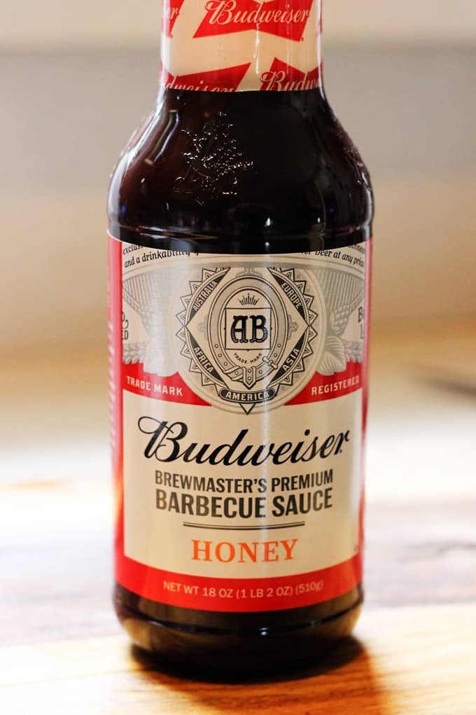 Budweiser Honey BBQ Sauce