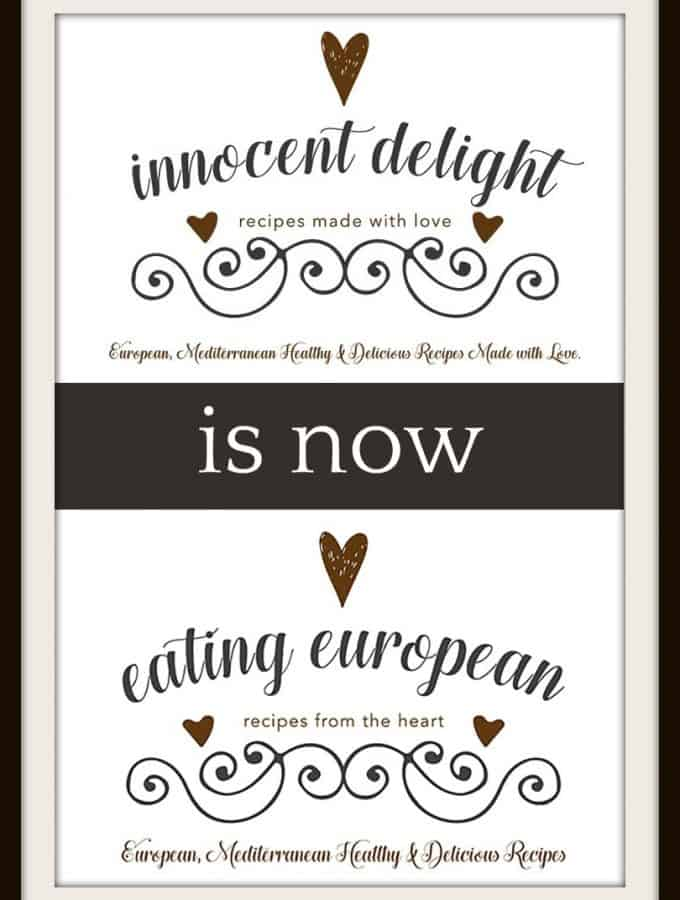 Innocent Delight is now Eating European