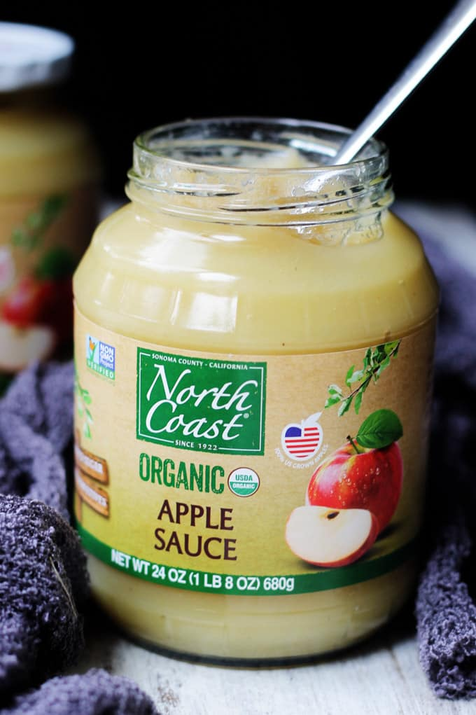 North Coast Organic Apple Sauce Jar
