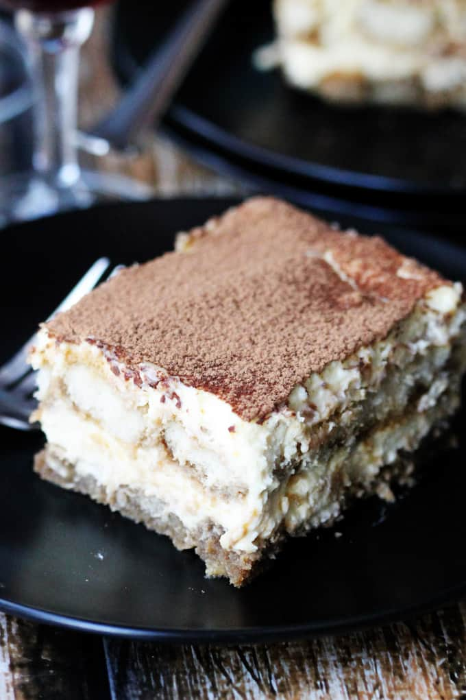 Authentic Italian Tiramisu dessert