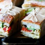French Sandwich Pan Bagnat for Picnic