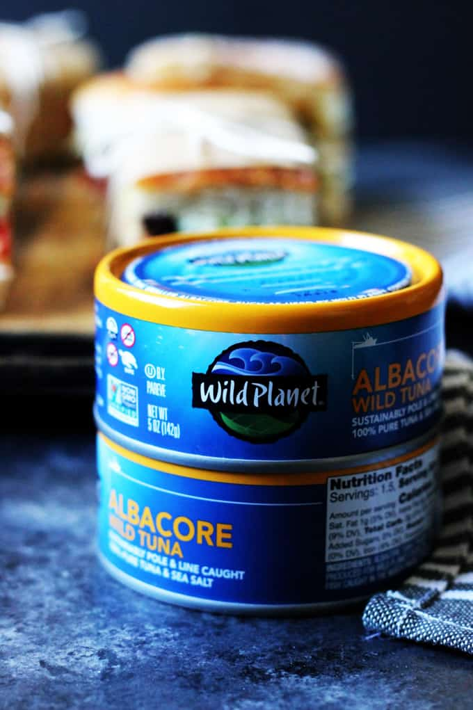 Wild Planet Tuna Cans