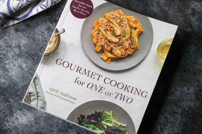 Gourmet Cooking for One or Two cookbook