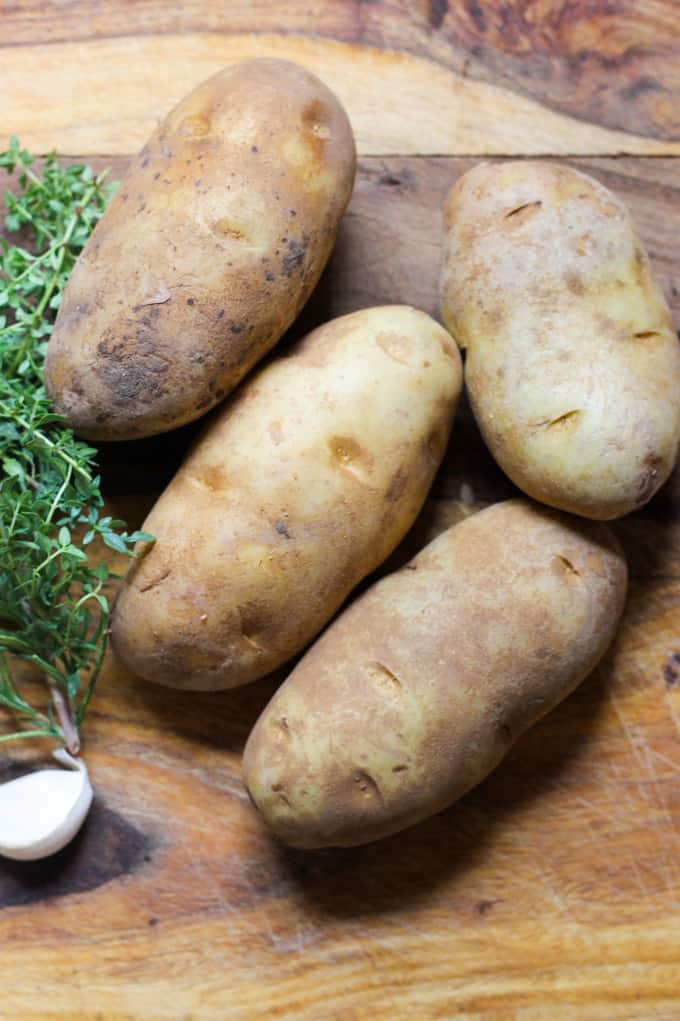 Russet Idaho Potatoes