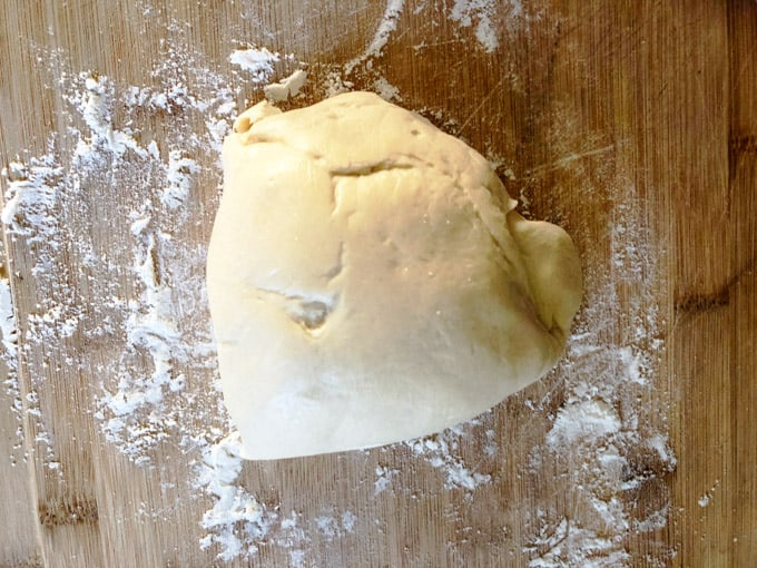 Dough for pierogi