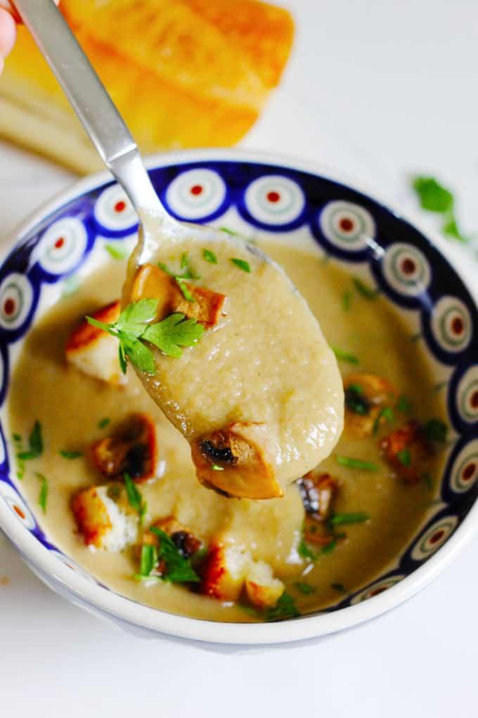 Spoonful of Mushroom Soup